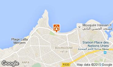 Karte Casablanca Appartement 73511