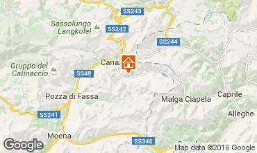 Karte Canazei - Belvedere Appartement 45784