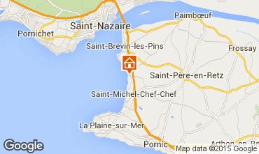 Karte Saint Brevin les Pins Mobil-Home 101937