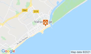 Karte Valras-Plage Studio 78031
