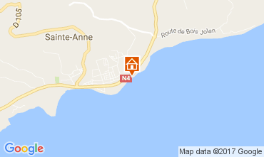 Karte Sainte Anne (Guadeloupe) Appartement 108495