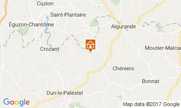 Karte La Souterraine Haus 107716