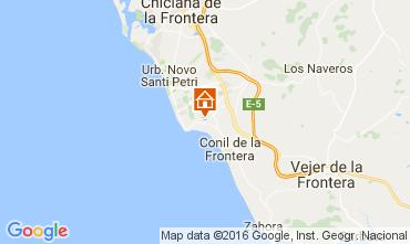 Karte Conil de la Frontera Chalet 103983