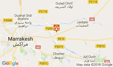 Karte Marrakesch Villa 115912