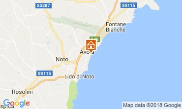 Karte Avola Villa 113747