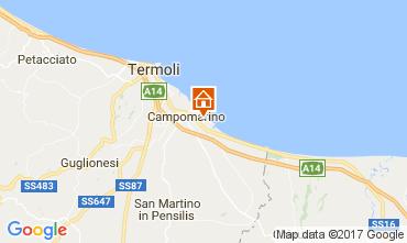 Karte Campomarino Appartement 107533