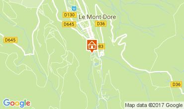 Karte Le Mont Dore Appartement 3890