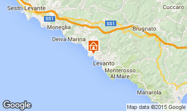 Karte Bonassola Appartement 47494