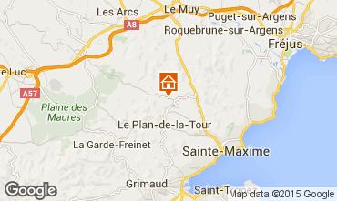 Karte Saint Tropez Villa 87387