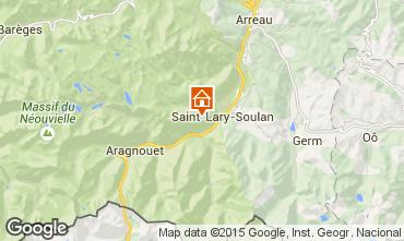 Karte Saint Lary Soulan Appartement 88678