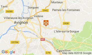 Karte Avignon Haus 114143