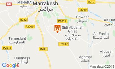 Karte Marrakesch Villa 119414