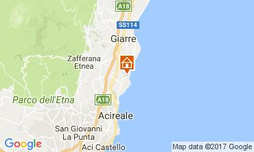 Karte Acireale Villa 83669