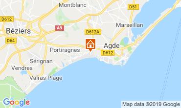 Karte Vias Plage Mobil-Home 10473
