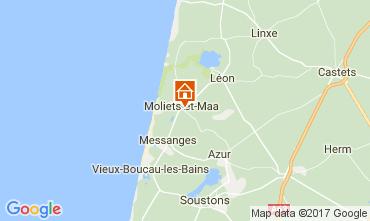 Karte Moliets Villa 109691