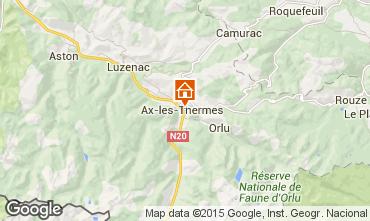 Karte Ax Les Thermes Appartement 68250