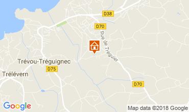 Karte Trevou Treguignec Haus 113518