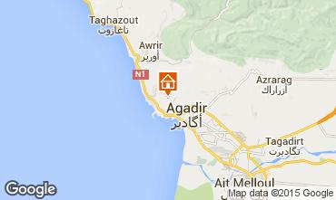 Karte Agadir Villa 60226