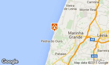 Karte São Pedro de Moel Haus 85021