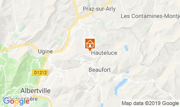 Karte Les Saisies Chalet 51561