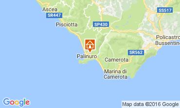 Karte Palinuro Appartement 70457
