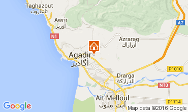 Karte Agadir Appartement 92479