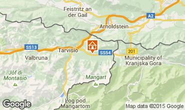 Karte Tarvisio Ferienunterkunft auf dem Land 50881