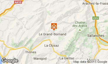 Karte Le Grand Bornand Chalet 86535