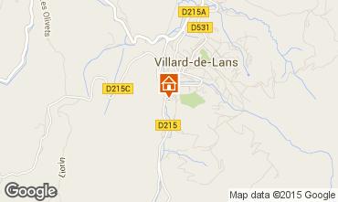 Karte Villard de Lans - Corrençon en Vercors Villa 101987