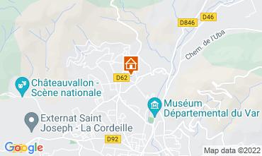 Karte Toulon Appartement 75600