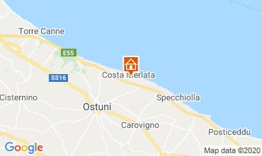 Karte Ostuni Villa 46576