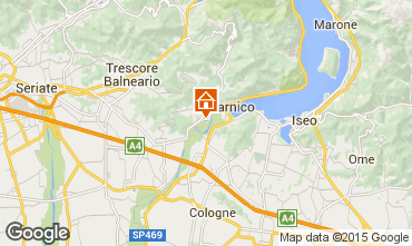 Karte Sarnico Appartement 37777