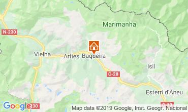 Karte Baqueira-Beret Appartement 73617