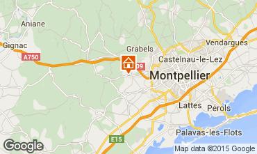 Karte Montpellier Villa 85047