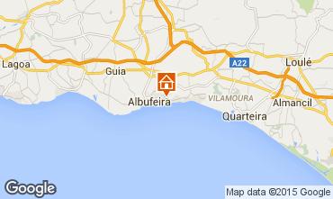 Karte Albufeira Appartement 11464