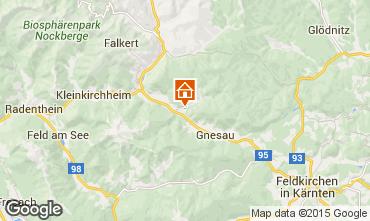 Karte Bad Kleinkirchheim Appartement 35449