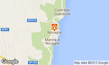 Karte Marina di Novaglie Villa 84689