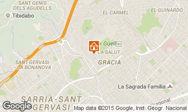 Karte Barcelona Appartement 81207