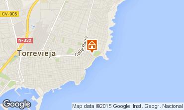 Karte Torrevieja Appartement 55632