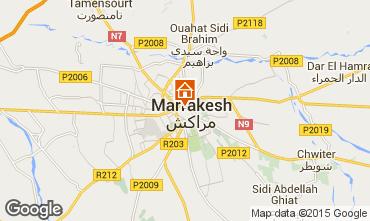 Karte Marrakesch Fremdenzimmer 73372