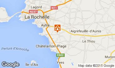 Karte La Rochelle Ferienunterkunft auf dem Land 86747
