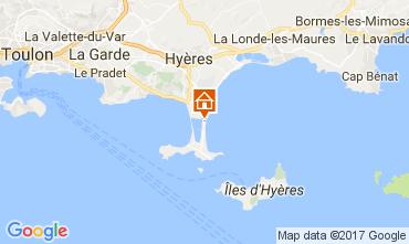 Karte Hyères Appartement 111063