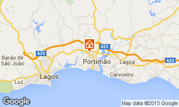 Karte Portimão Appartement 74093