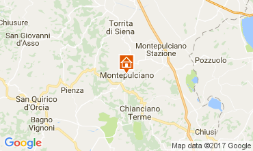 Karte Montepulciano Appartement 110028