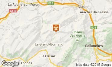Karte Le Grand Bornand Appartement 95442