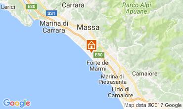 Karte Cinquale Villa 108425