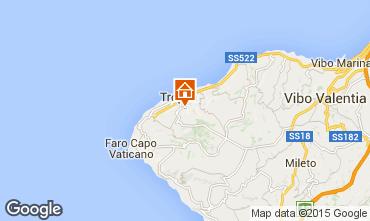 Karte Tropea Appartement 76371