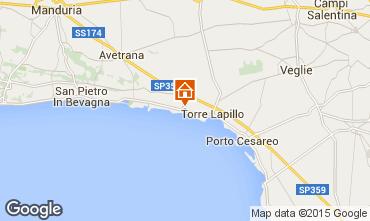 Karte Porto Cesareo Appartement 61664