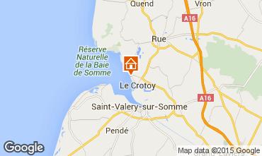 Karte Le Crotoy Appartement 95400
