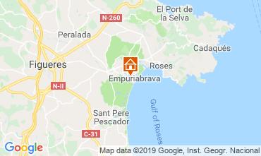 Karte Empuriabrava Villa 116391